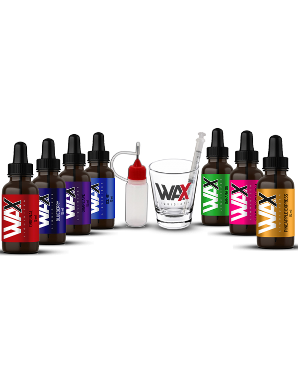 Turn Wax to E Juice with this Multi Flavor Sampler Pack - Wax Liquidizer